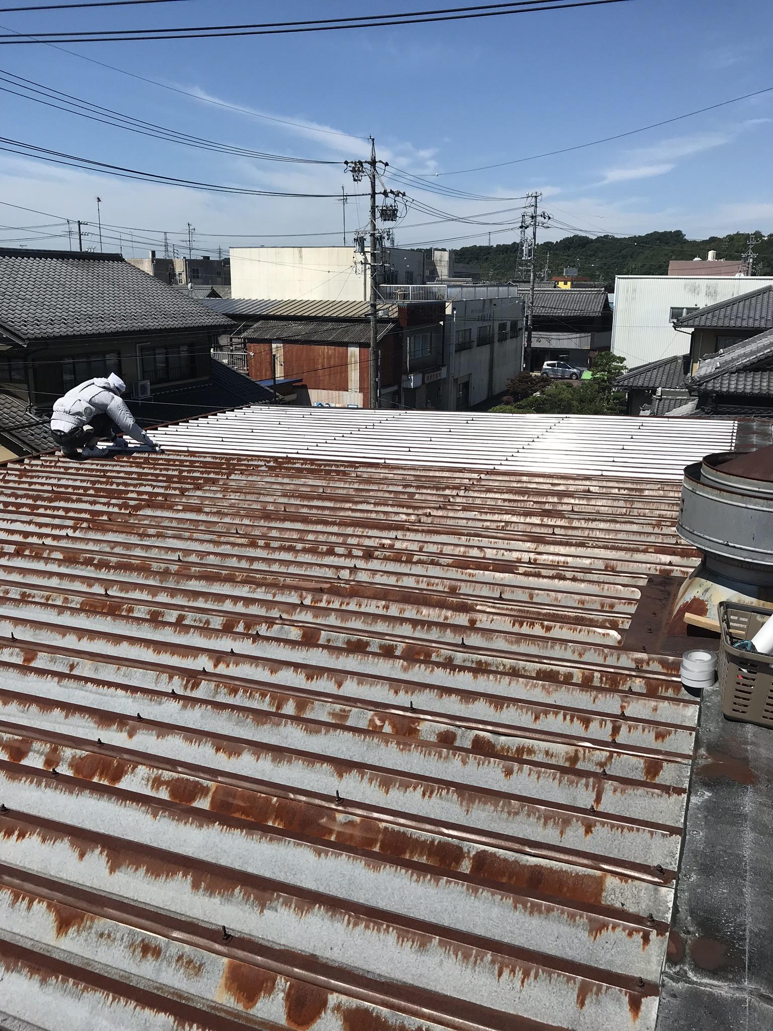 酒造会社の材料を保管する倉庫