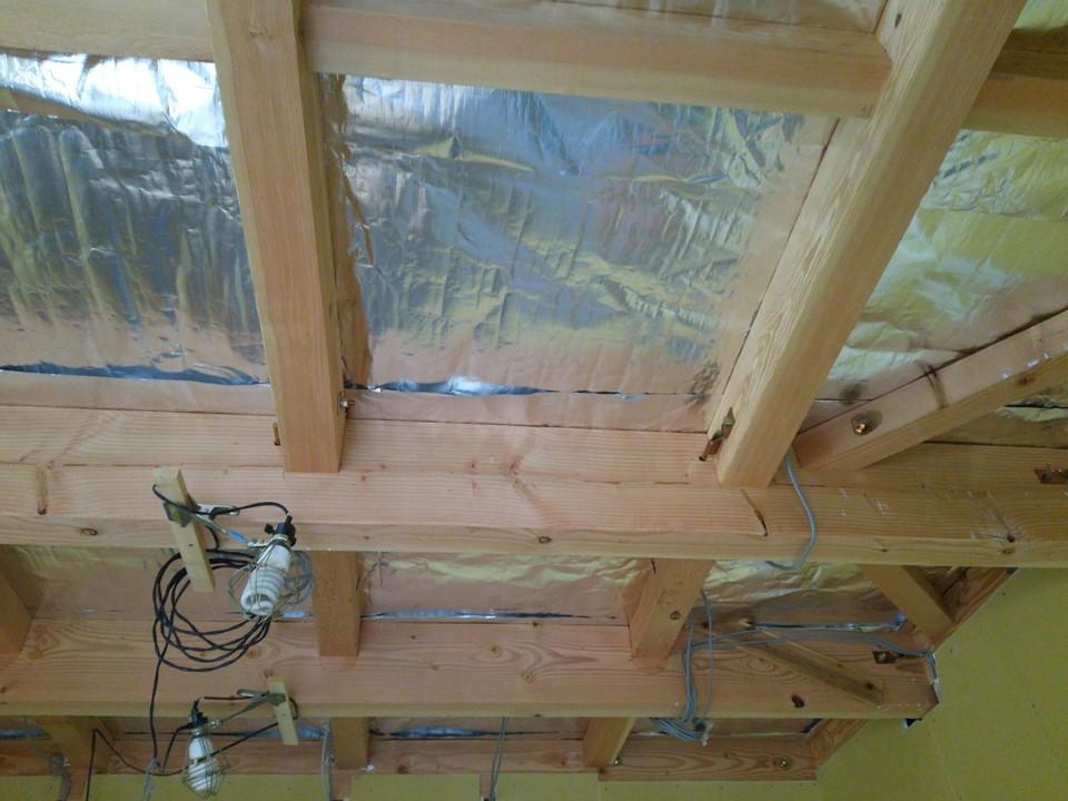 新築住宅で天井・内壁にサーモバリア採用様