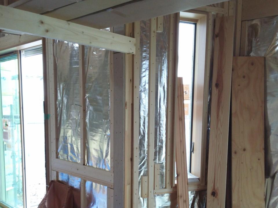 新築住宅で天井・内壁にサーモバリア採用