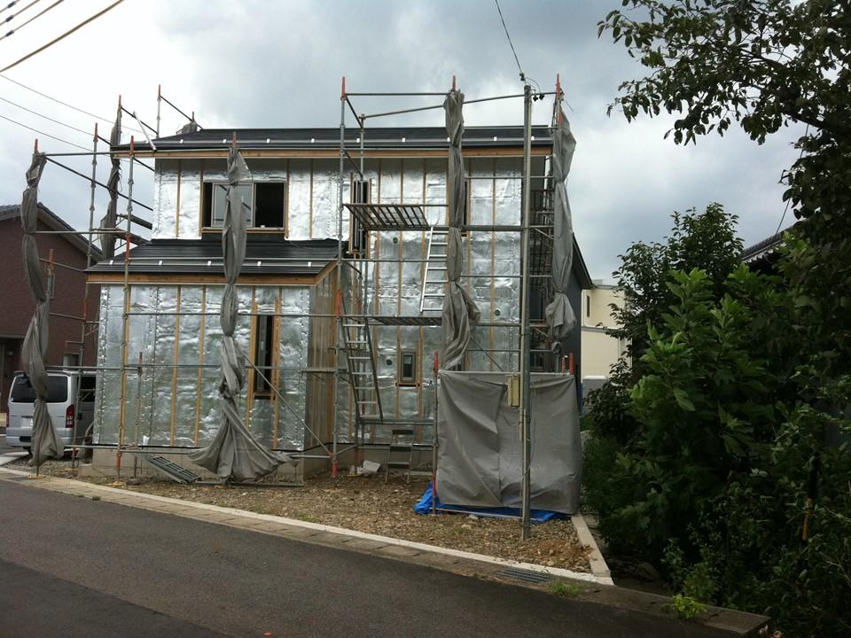 新築住宅の「内壁」・「外壁」で施工