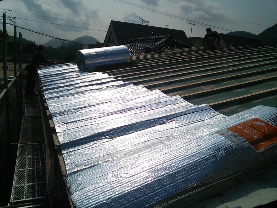 外壁・屋根リフォームで遮熱対策