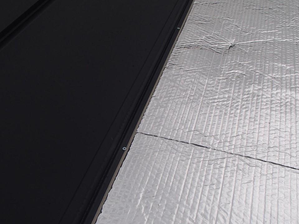 遮熱対策&ガルバリウム鋼板でカバー工法♪