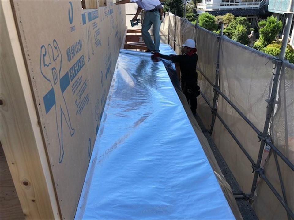 垂木下+野地板上 施工で儲かるZEH住宅