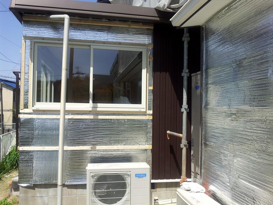 外壁リフォームに併せて遮熱対策様
