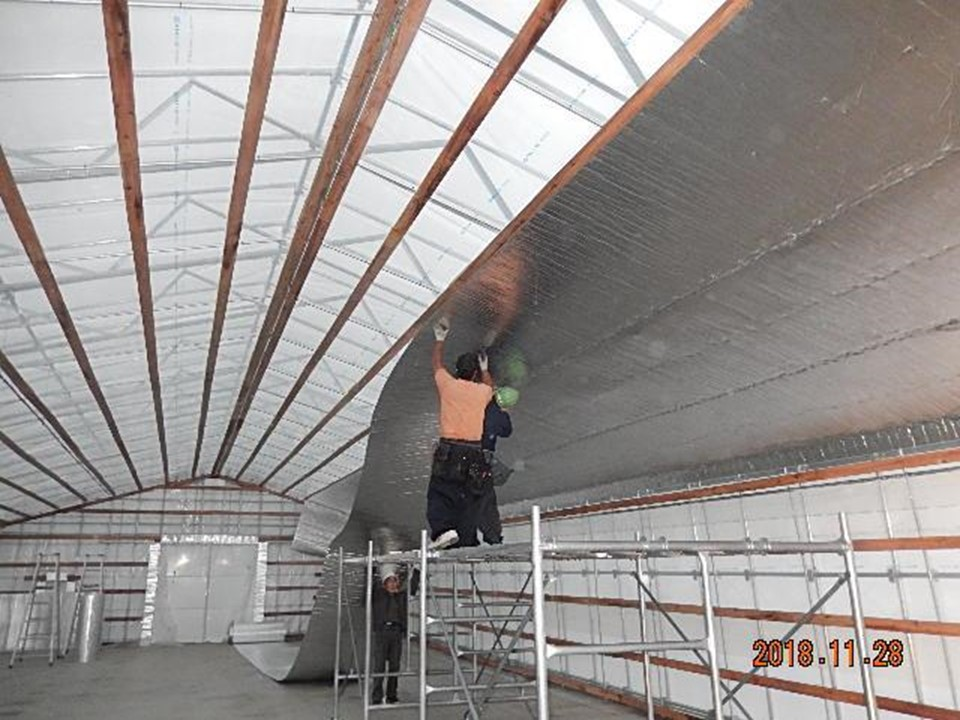 農業用ハウスで生産力増強対策