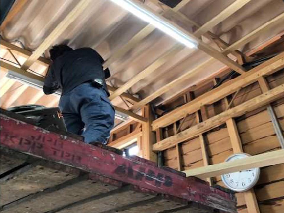 木工所のみなさんが<br>自社作業場を施工してみました