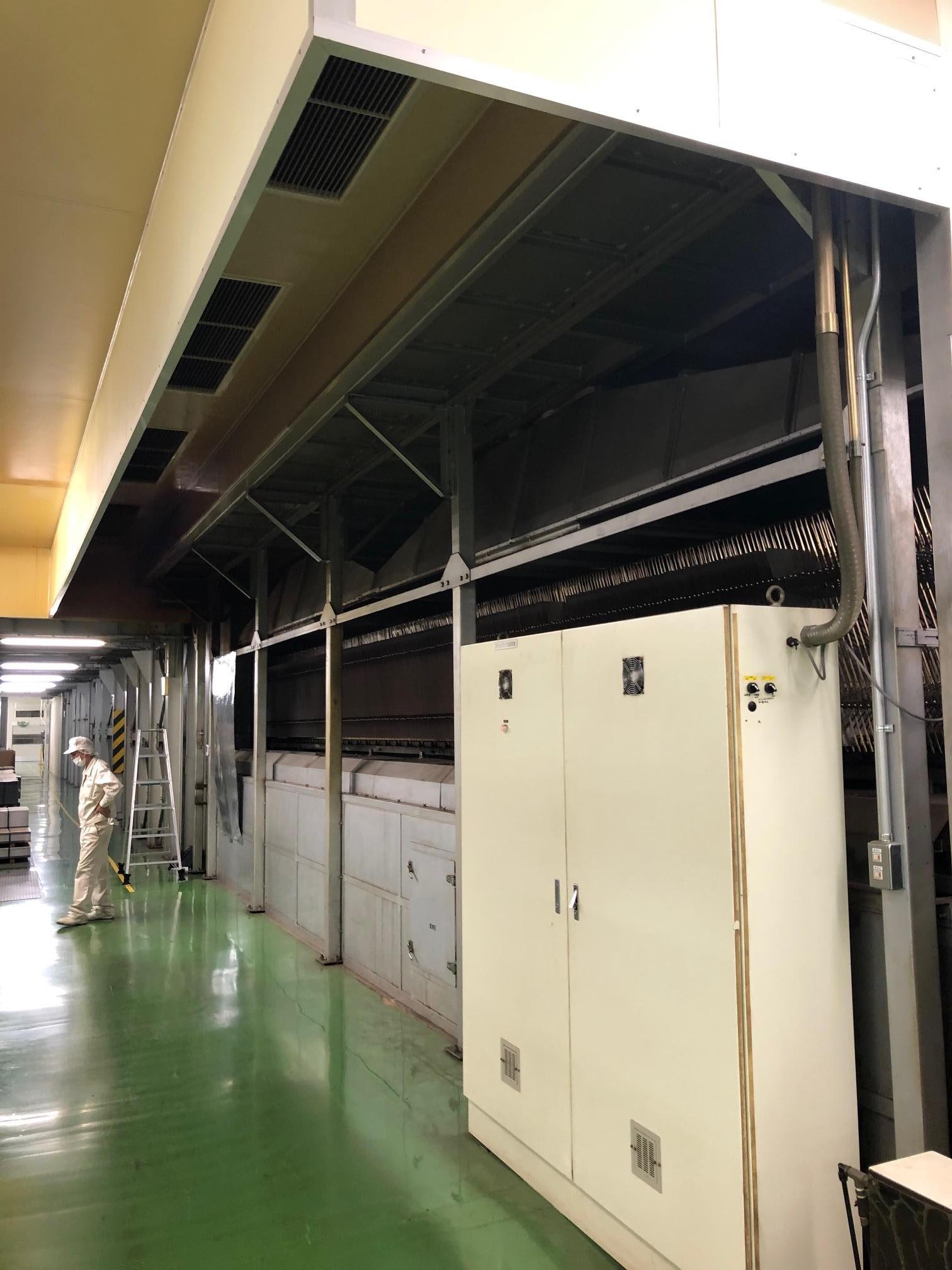 金属印刷工場で排熱対策